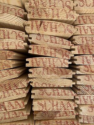 £5 • Buy LOG LAP Tongue & Groove Boards 95mm X 20mm X 3.9mtrs(13ft)