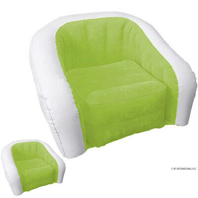 £12.99 • Buy New Inflatable Chair Outdoor Camping Lounger Sofaseat Waterproof Portable Single
