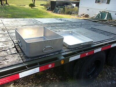 $380 • Buy Military Surplus Kitchen M59 Field Range Pot With Griddle Lid Mkt Trailer Army