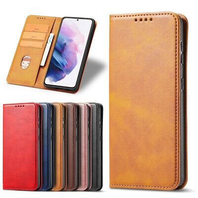 $ CDN8.74 • Buy For Galaxy S21/S20/S10/S9 Note 20/10/9/8 Leather Wallet Magnet Case Flip Cover