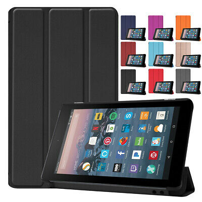 AU14.92 • Buy For Amazon Kindle Fire HD 10 8 7 9th Gen 2019 Flip Magnetic Leather Tablet Case
