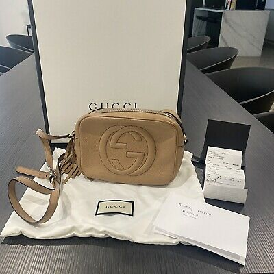 AU1200 • Buy Gucci Soho Disco Bag Tan