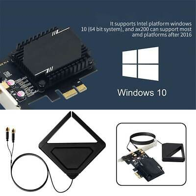 £9.63 • Buy Wireless Network Card Antenna 3000M WiFi6 Pcie Signal Dual Frequency Gaming UK