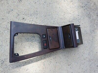 $195 • Buy 98 99 00 01 BMW 740IL 750IL Woodgrain Center Console Shifter Bezel Trim