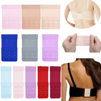 AU3.06 • Buy Clip On Bra Extender Extension 3 Rows 2 3 4 Hooks Elastic Maternity Strap Buckle