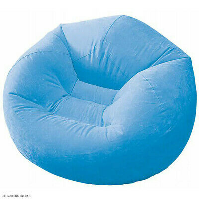 £10.99 • Buy Inflatable Chair Outdoor Camping Indoor Gaming Lounger Sofa  Waterproof Blue New