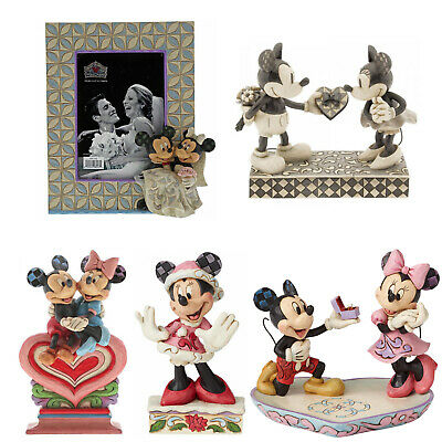 £25.95 • Buy Disney Traditions Mickey & Minnie Figurines By Jim Shore NEW In Gift Box