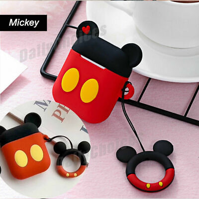 AU5.99 • Buy Cute Cartoon Silicone Airpod Protective Case Cover Skin For Apple Airpods 1 2 AU