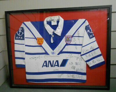 AU750 • Buy Framed  East Japan   Rugby League  Player  Jersey - Signed