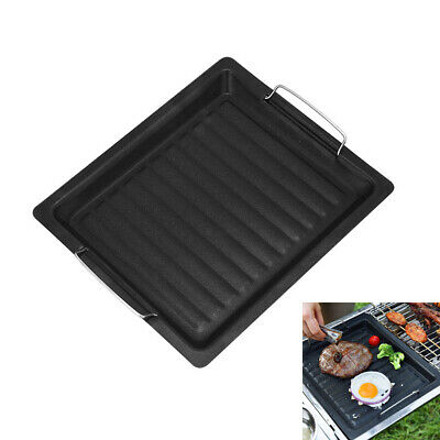 £12.11 • Buy Black Non-Stick Electric Teppanyaki Table BBQ Table Top Grill Griddle Hot Plate