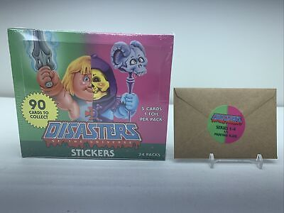 $999.99 • Buy Disasters Of The Universe Sealed Box + Sealed Printing Plate