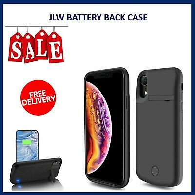 £16.99 • Buy JLW External Battery Case Charging Power Cover For IPhone XSMAX6000mAh KICKSTAND