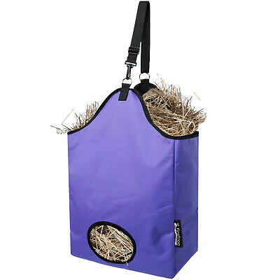 £11.85 • Buy Horse Feed Durable Large Hay Bag For Horses Pony Control Feeding Equestrian