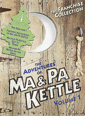 $4.48 • Buy The Adventures Of Ma & Pa Kettle, Vol. 1 [The Egg And I / Ma And Pa Kettle / Ma