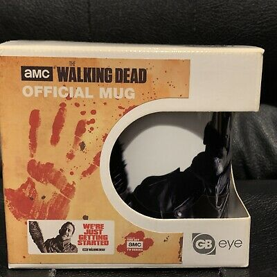 £4.99 • Buy The Walking Dead - Negan - Were Just Getting Started Licenced Quote Mug Boxed