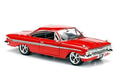 AU47.99 • Buy Fast And Furious 8 - Dom's Chevy Impala 1:24 Scale Hollywood Ride