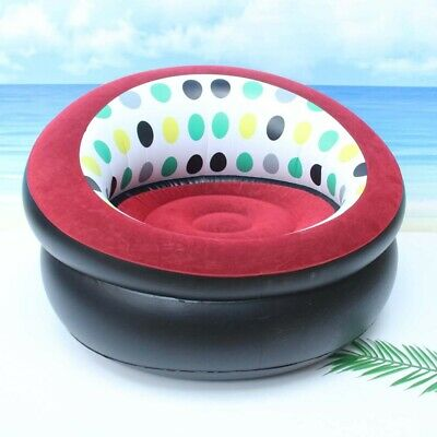 £14.98 • Buy Creativity Single Inflatable Chair Sofa Blow Up Seat Gaming Pod Camping Festival