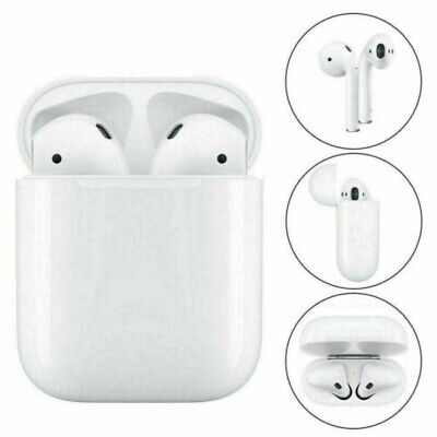 AU46.99 • Buy Apple AirPods Earphones With Wireless Charging Case ( 2nd Gen) White AU Stock