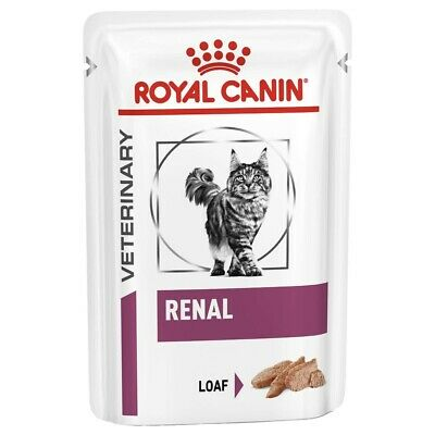 £16.71 • Buy Royal Canin Renal Wet Food Pouches In Loaf For Cats 12x85G