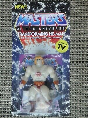 $38 • Buy Masters Of The Universe Transforming He-Man Action Figure MOC Super 7 Series