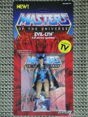 $38 • Buy Masters Of The Universe Evil-Lyn Action Figure MOC Super 7 Vintage Series
