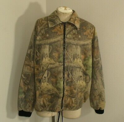 £6.38 • Buy Vtg Liberty ADVANTAGE TIMBER CAMO Hunting Fishing Field Canvas Twill Jacket 2XL