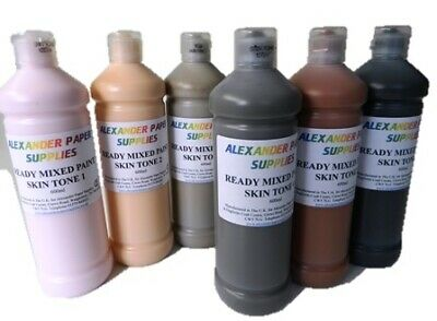£19.99 • Buy 6 X Ready Mixed Paint, Skin Tone Set - Poster Paint