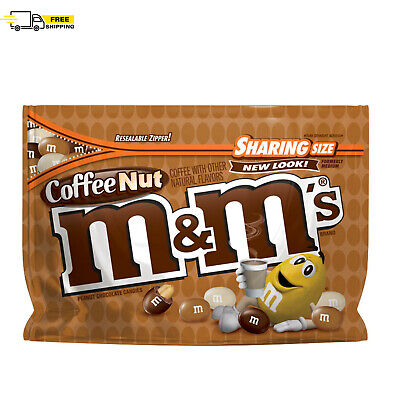 $4.53 • Buy M&M'S Coffee Nut Peanut Chocolate Candy Sharing Size, 9.6 Oz. Bag BEST PRICE