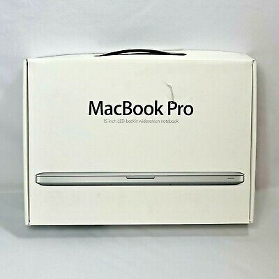 $29.99 • Buy Apple MacBook Pro 15-inch A1286 Empty Box Only Foam And Plastic Stickers