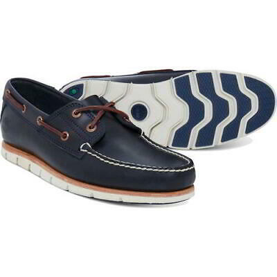 £74.99 • Buy Timberland Tidelands Mens Blue Lace Up 2 Eye Wide Fit Boat Deck Shoes Size 7-9