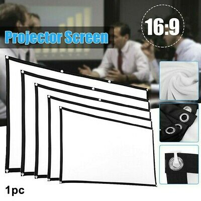 AU32.85 • Buy 60  -120  Projector Screen Curtain Anti-light Outdoor Home&Office Portable 3D HD