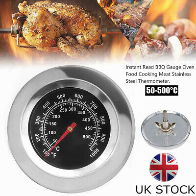 £7.29 • Buy Stainless Steel Oven Thermometer / Temperature Gauge For Pizza Ovens BBQ Cooker