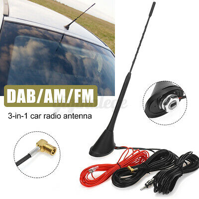 £18.99 • Buy Car Antenna Aerial Mast Roof Mount Active Amplified DAB FM AM Radio SMB UK