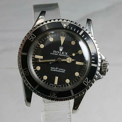AU18030.78 • Buy 1970 VALUABLE VINTAGE Rolex Submariner Stainless Steel No Date Watch Ref. 5513