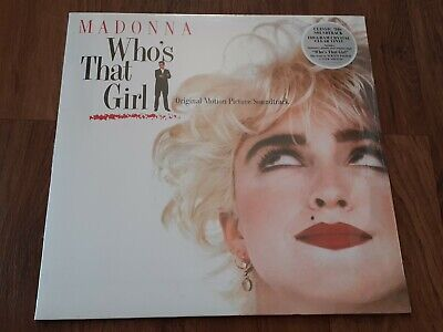 £17.95 • Buy MADONNA - WHO'S THAT GIRL 180g LP CLEAR VINYL NEW SEALED