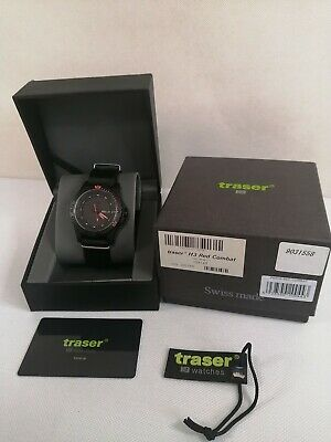 £318.67 • Buy Traser H3 P6600 MIL-G RED COMBAT 9031558 Sapphire Glass NearMINT WithBox
