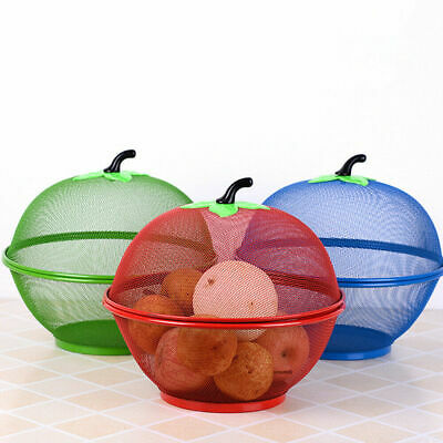 £7.99 • Buy MESH BOWL FRESH FRUITS & VEGETABLE Storage Basket Keep Flies  Insects Out
