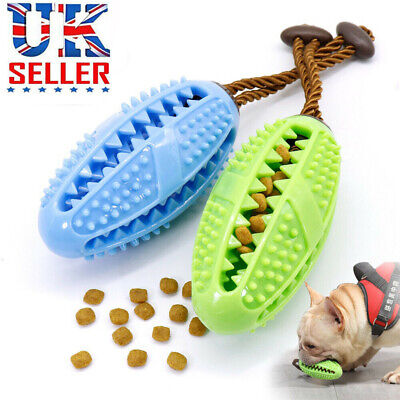 £6.49 • Buy Dog Treat Ball Interactive Toothbrush Chew Toy Cleaning Food Dispenser Feeder UK