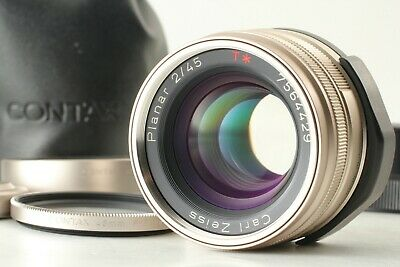 $ CDN529.83 • Buy [MINT] Contax Carl Zeiss Planar 45mm F/2 T * Lens AF For G1 G2 Case From JAPAN