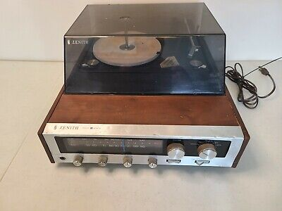£108.70 • Buy Vintage Zenith C585W Solid State Turntable Record Player With FM Radio *READ*