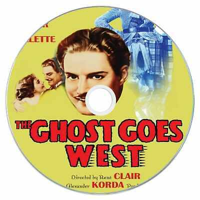 £2.49 • Buy The Ghost Goes West 1936 Classic DVD Film - Comedy, Fantasy, Horror
