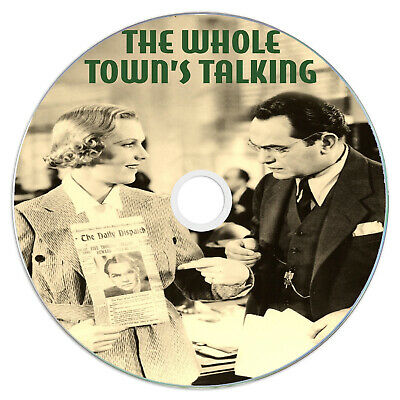 £2.49 • Buy The Whole Town's Talking 1935 Classic DVD Film - Comedy, Crime, Drama