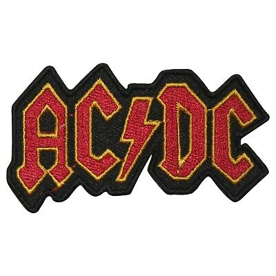 £1.99 • Buy ACDC Rock Music Brand Logo Patch Iron On Patch Sew On Badge Embroidered Patch