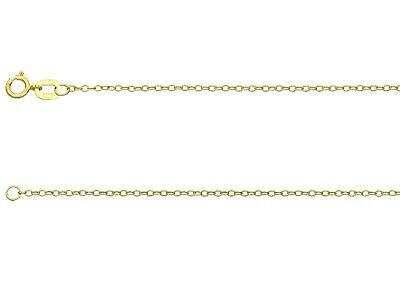 £19.95 • Buy 9ct Yellow Gold Trace Pendant Chain 16  18  20  - Choice Of Length
