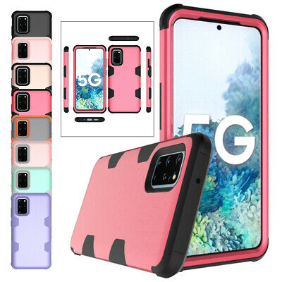 AU12.68 • Buy For Samsung Galaxy S20 Ultra S10 S8 S9 Note 9 360 Shockproof Case Silicone Cover