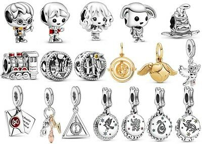 AU14.26 • Buy Full Series Of Harry Potter 925 Sterling Silver Pandora Charms