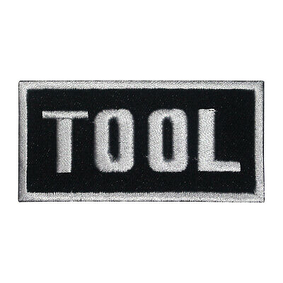 £1.99 • Buy Tool Music Band Patch Iron On Patch Sew On Badge Patch Embroidery Patch