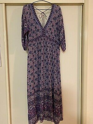 AU399 • Buy Spell And The Gypsy Collective Kombi Folk Dress Lavender Size L💜