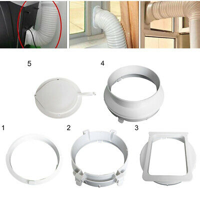 AU17.01 • Buy Portable Air Conditioner Window Kit Exhaust Hose Duct Interface Tube Connector