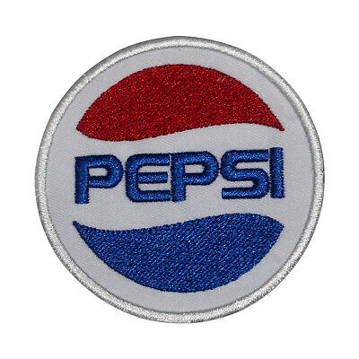 £1.99 • Buy Pepsi Logo Circle Patch Iron On Patch Sew On Badge Patch Embroidery Patch
